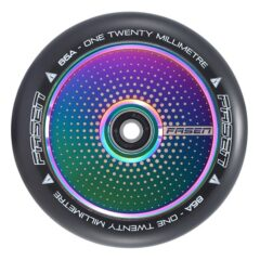 Fasen Hollow Core Hypno Dot Oil Slick 120mm Wheels