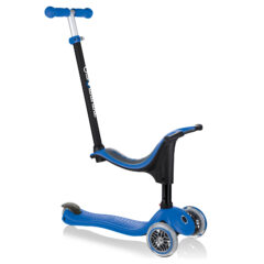 Globber Go Up Sporty 3-Wheel Scooter - Navy Blue