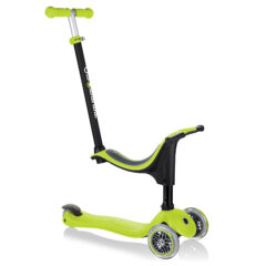 Globber Go Up Sporty 3-Wheel Scooter - Lime Green