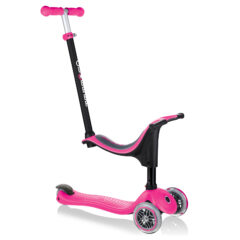 Globber Go Up Sporty 3-Wheel Scooter - Deep Pink