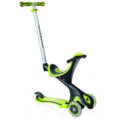 Globber Evo Comfort Convertible Lime Green Scooter